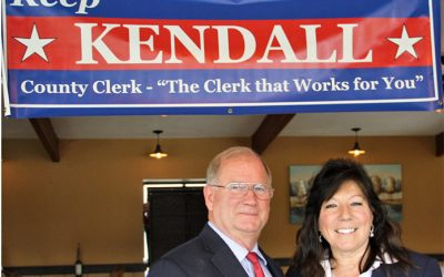 Kendall launches re-election campaign